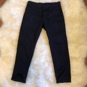 Black Levi's Slim Straight Cotton Chinos